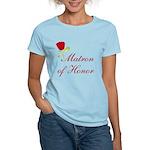 Red Matron of Honor Women's Light T-Shirt