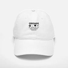 Chicago Drinking City Sports Problem Baseball Baseball Baseball Cap
