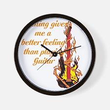 Cool Fender guitar Wall Clock