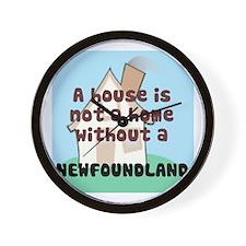 Newfie Home Wall Clock