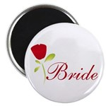 Red Bride Magnet