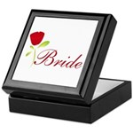 Red Bride Keepsake Box