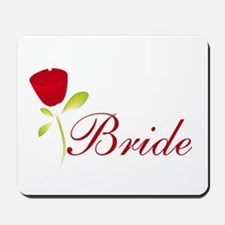 Red Bride Mousepad