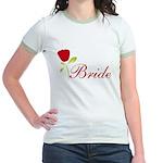 Red Bride Jr. Ringer T-Shirt