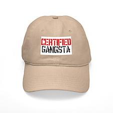 Certified Gangsta Baseball Cap