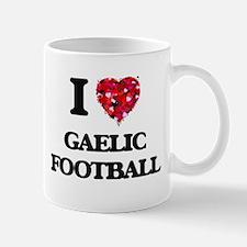 I Love Gaelic Football Mugs