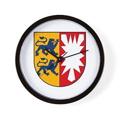 Schleswig Holstein Wall Clock