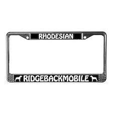 Rhodesian Ridgebackmobile License Plate Frame