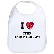 I Love Ithf Table Hockey Bib