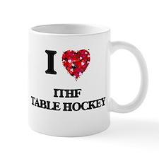 I Love Ithf Table Hockey Mugs