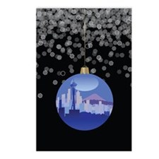 Seattle Ornament Postcards (Package of 8)
