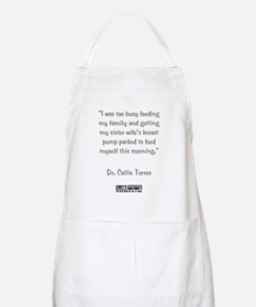 I WAS BUSY... Apron