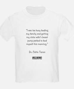 I WAS BUSY... T-Shirt
