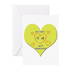 Hug your Kids Heart Greeting Cards (Pk of 20)