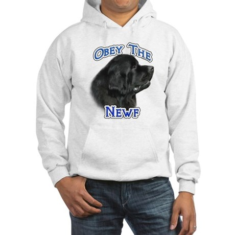 Newfie Obey Hooded Sweatshirt