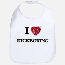 I Love Kickboxing Bib