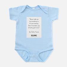 NEVER TRADE SEX... Infant Bodysuit