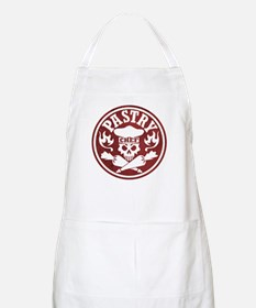 Pastry Chef Skull Red White Apron