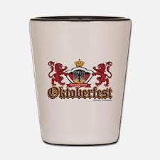 Oktoberfest Lions Shot Glass