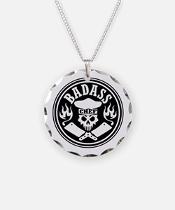 Badass Chef Black Necklace