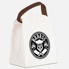 Badass Chef Black Canvas Lunch Bag