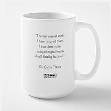 FINALLY FREE Large Mug