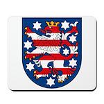 Thuringen Coat of Arms Mousepad