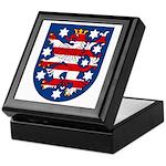 Thuringen Coat of Arms Keepsake Box