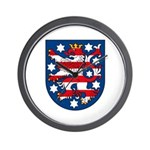 Thuringen Coat of Arms Wall Clock