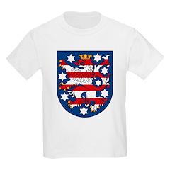 Thuringen Coat of Arms Kids T-Shirt