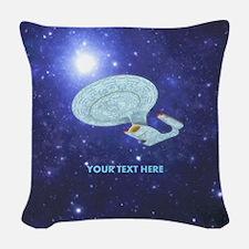 Star Trek NG Woven Throw Pillow
