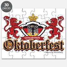 Oktoberfest Lions Puzzle