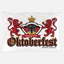 Oktoberfest Lions Pillow Case