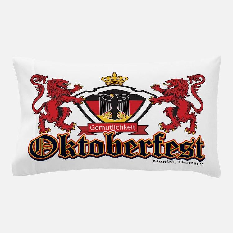 Oktoberfest Lions Pillow Case