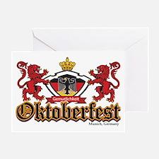 Oktoberfest Lions Greeting Cards