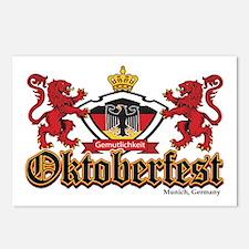 Oktoberfest Lions Postcards (Package of 8)