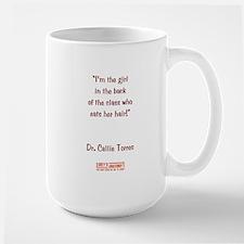I'M THE GIRL... Large Mug