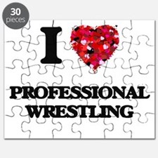 I Love Professional Wrestling Puzzle