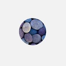 colorful rocks Mini Button