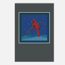 Knit Cardinal Postcards (Package of 8)