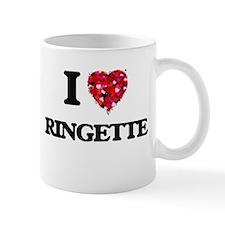 I Love Ringette Mugs