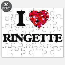 I Love Ringette Puzzle
