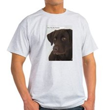 Funny Chocolate labrador T-Shirt