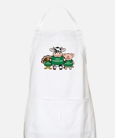 Eat Veggies BBQ Apron