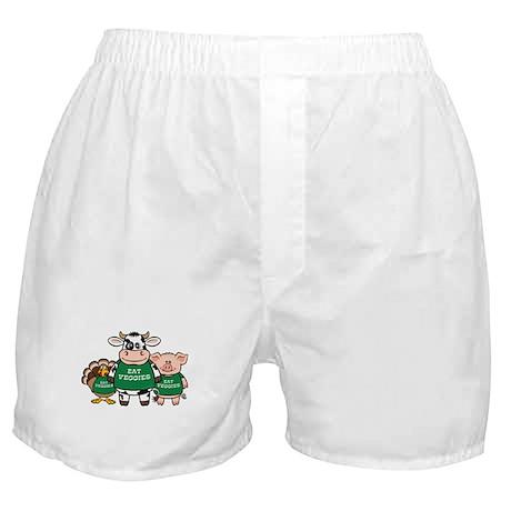 Eat Veggies Boxer Shorts