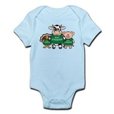 Eat Veggies Infant Bodysuit