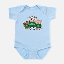 Eat Veggies Infant Bodysuit