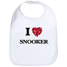 I Love Snooker Bib