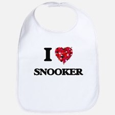 I Love Snooker Bib