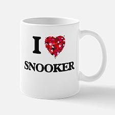 I Love Snooker Mugs